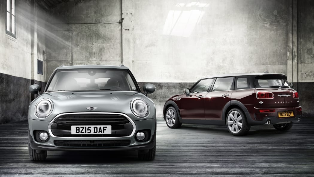 2016 Mini Clubman pair front rear