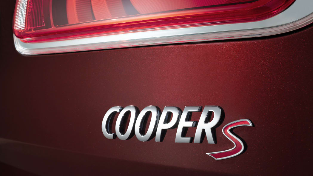 2016 Mini Cooper S Clubman badge
