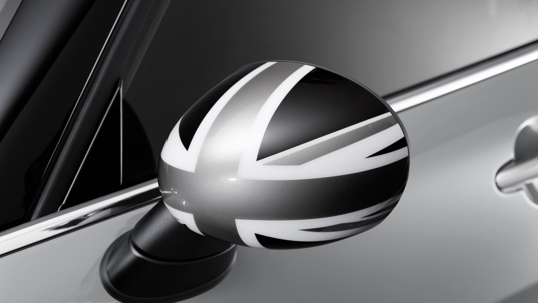2016 Mini Clubman union jack mirror cap