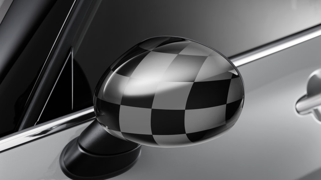 2016 Mini Clubman checkered mirror cap