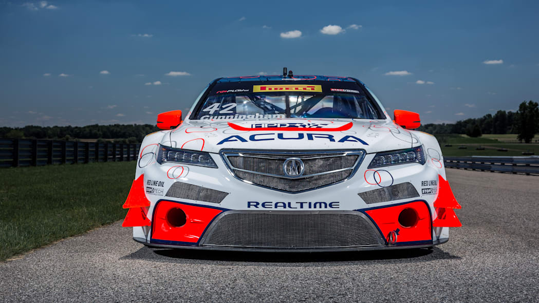 acura tlx gt racecar front