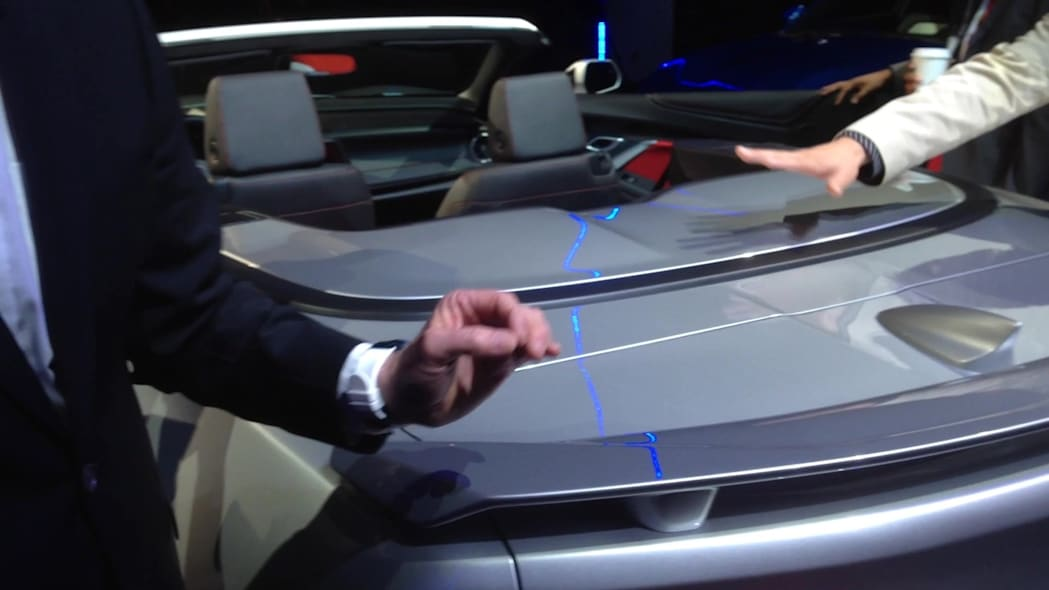 2016 Chevy Camaro Convertible Roof Features | Autoblog Short Cuts