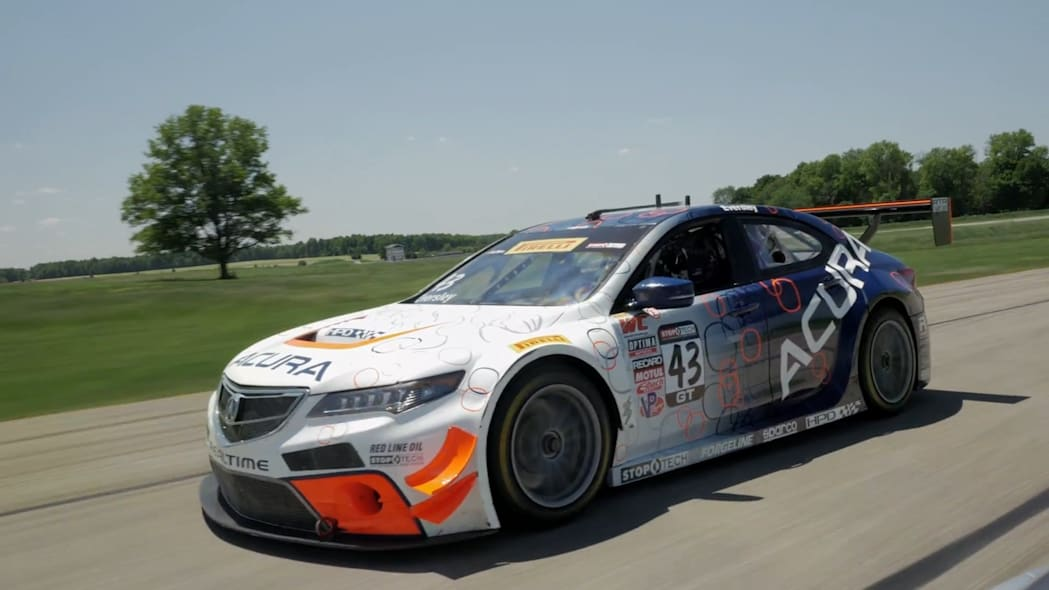 Acura TLX-GT At Gingerman Raceway