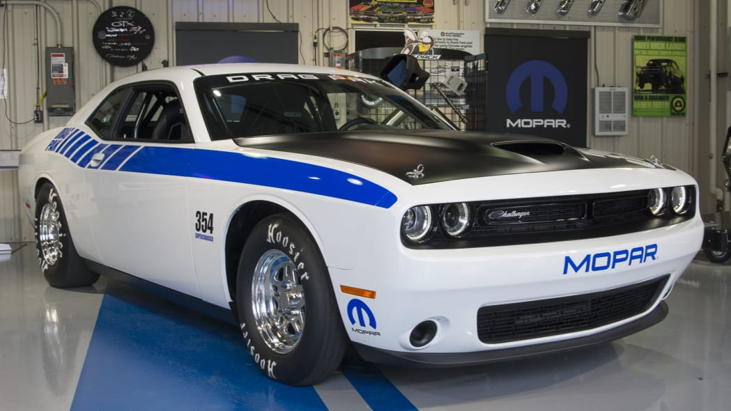 mopar challenger drag car pak supercharged
