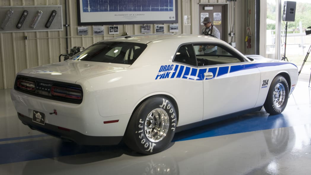 drag pak challenger mopar hoosier tires decals