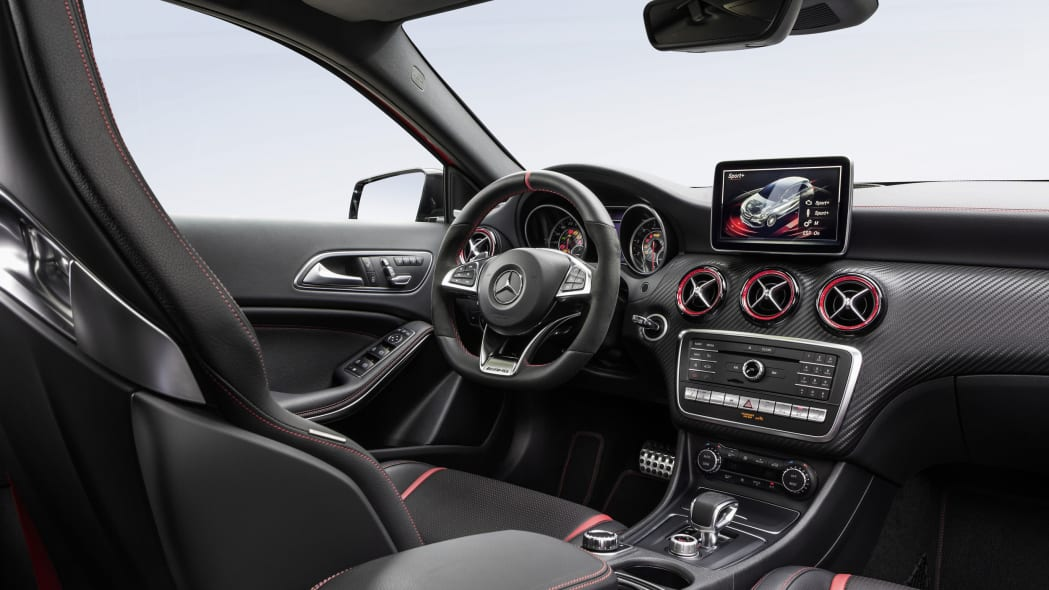 Mercedes-AMG A45 4Matic instrument panel.