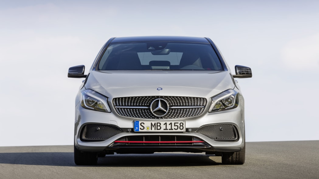 Mercedes A250 AMG Sport Line front.