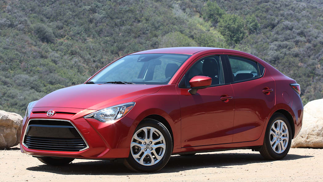 2016 Scion iA front 3/4 view