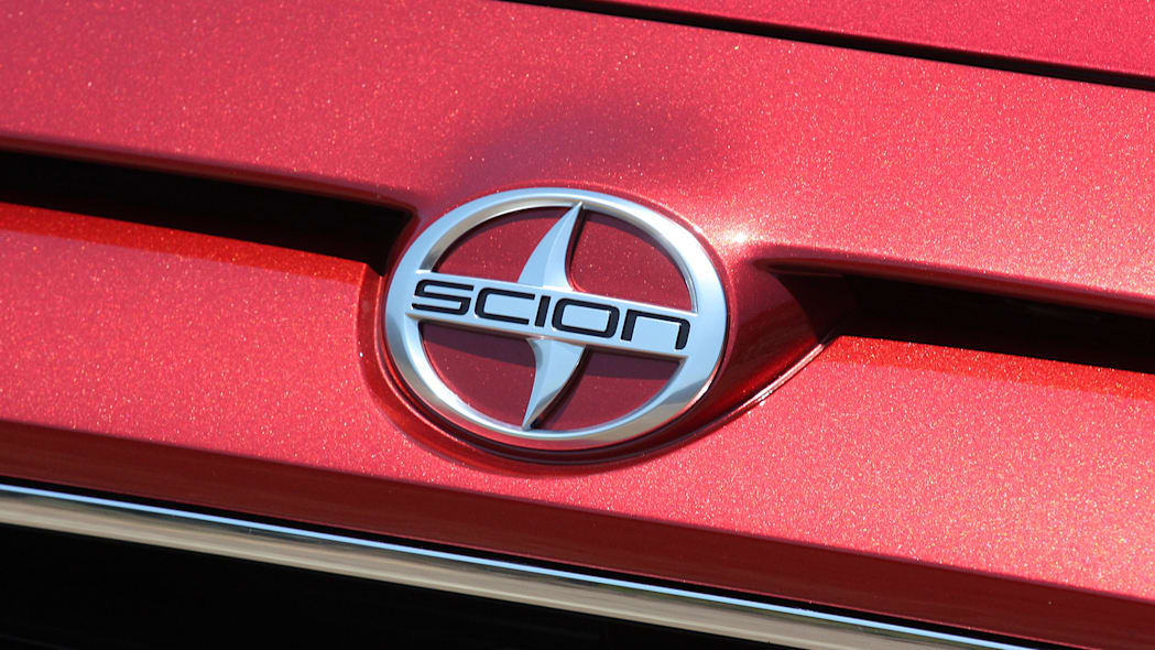 2016 Scion iA badge
