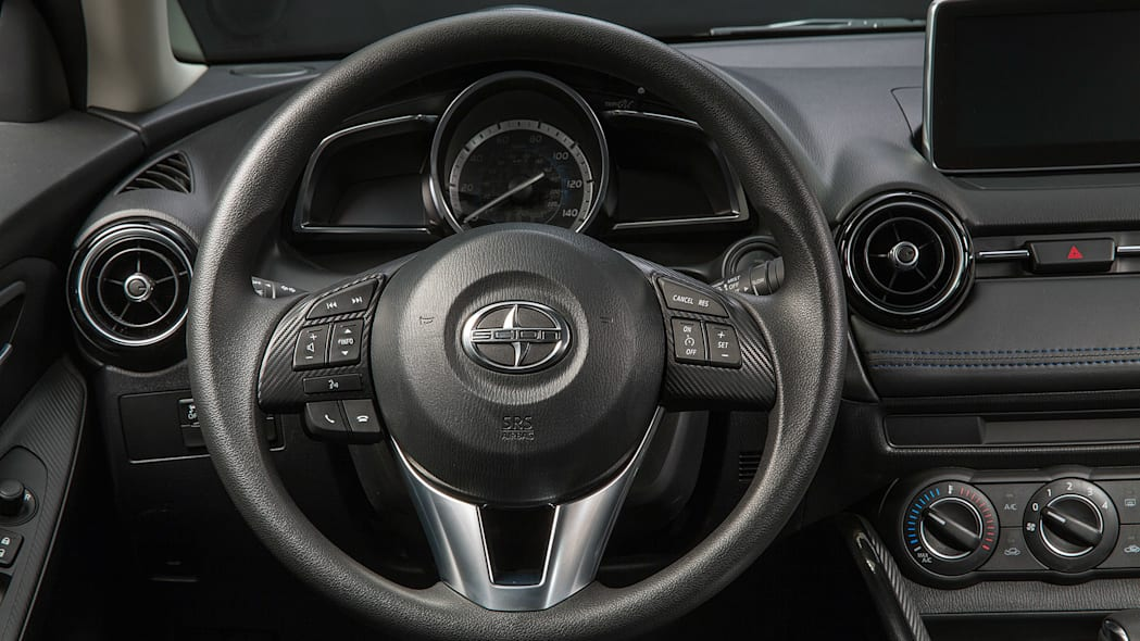 2016 Scion iA steering wheel