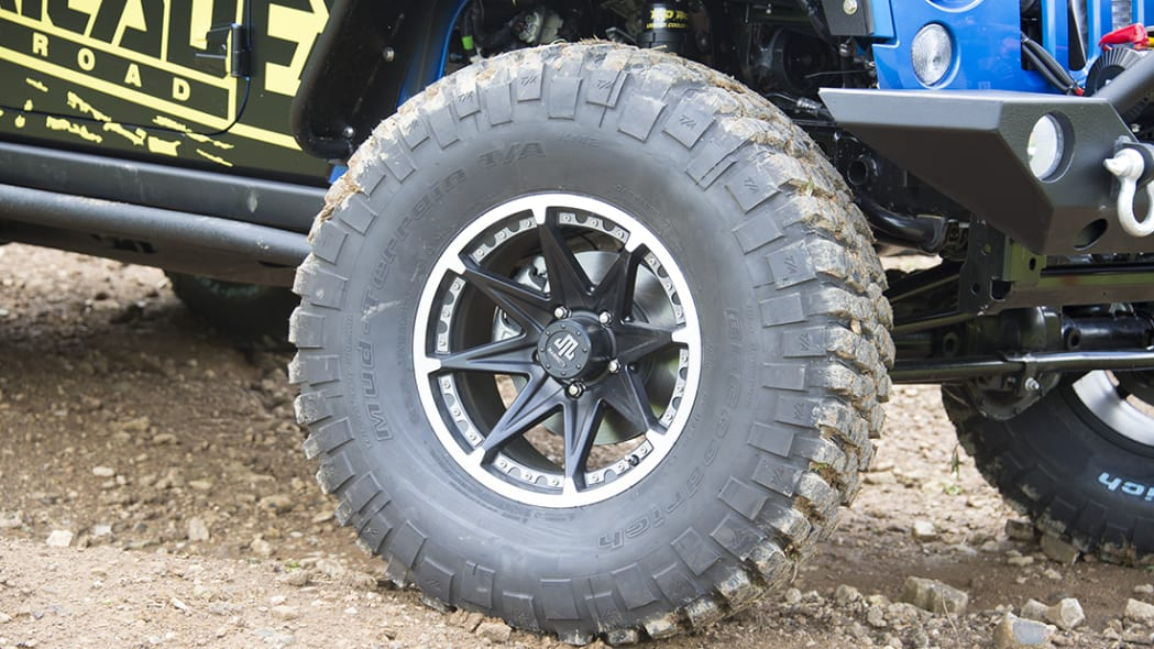 Project Trail Force 2015 Jeep Wrangler Rubicon wheel.