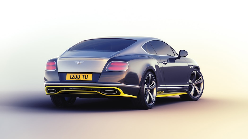 Bentley Continental GT Speed Breitling Jet Team Series Limited Edition rear 3/4
