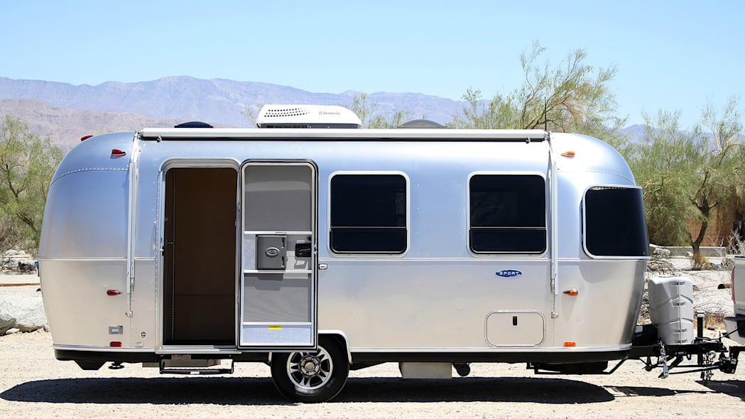 Airstream Bambi Sport 22 side view