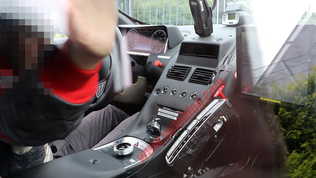 Aston Martin DB11 prototype interior