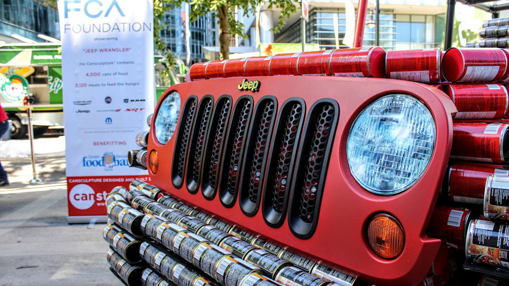 Jeep Wrangler canstruction