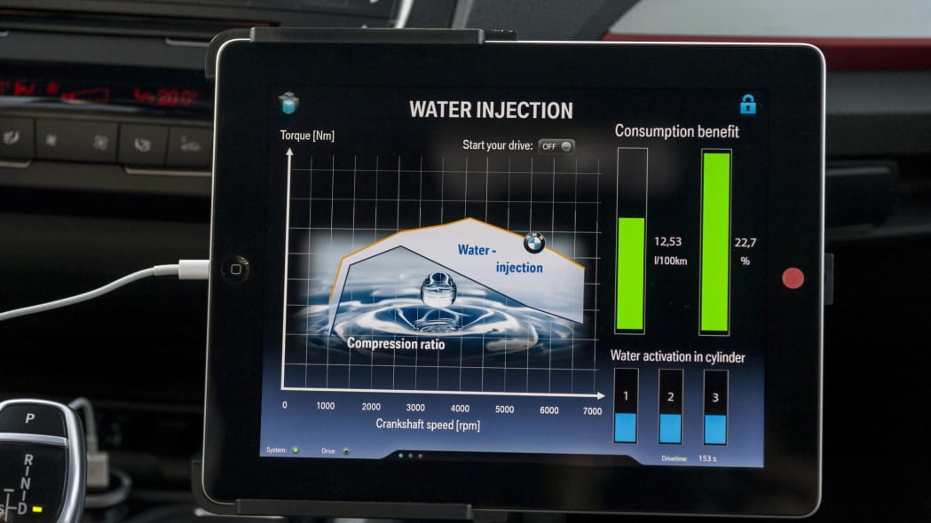 BMW Water Injection Technology