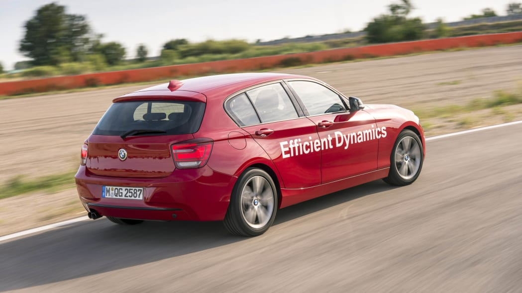 BMW 1 Series with Direct Water Injection Technology rear 3/4