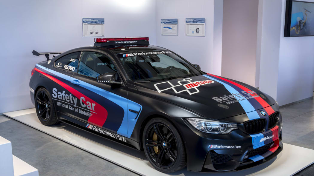 BMW M4 MotoGP safety car Direct Water Injection Technology