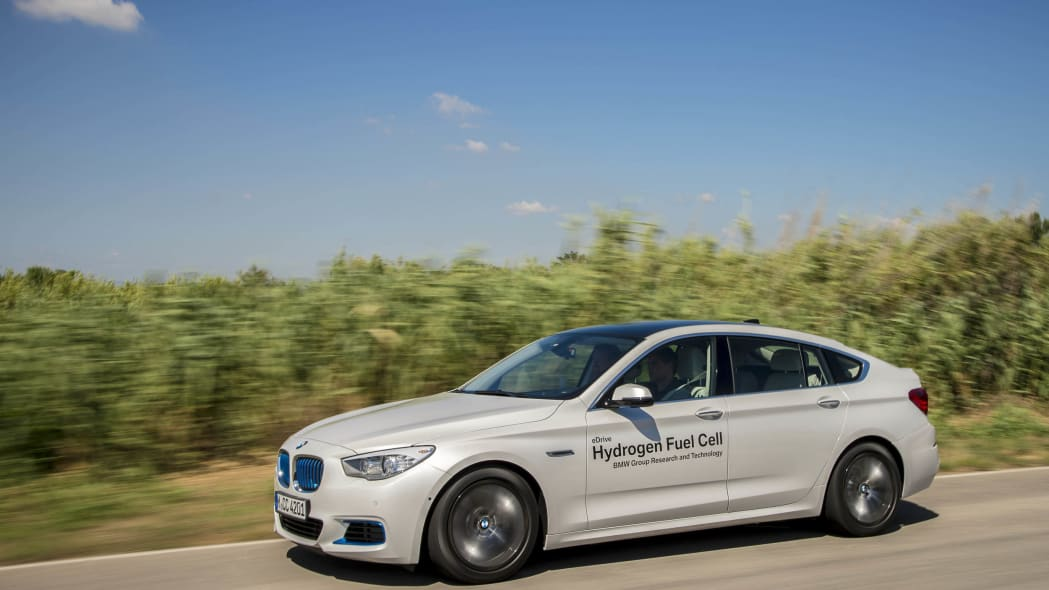 fuel cell corn crops bmw 5 series