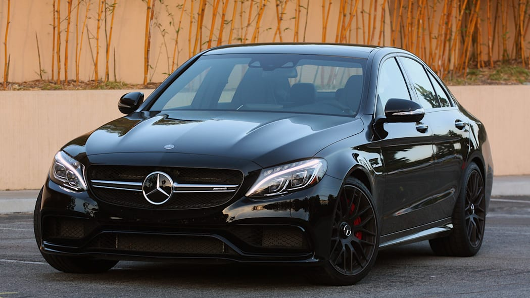 2015 Mercedes-AMG C63 S front 3/4 view