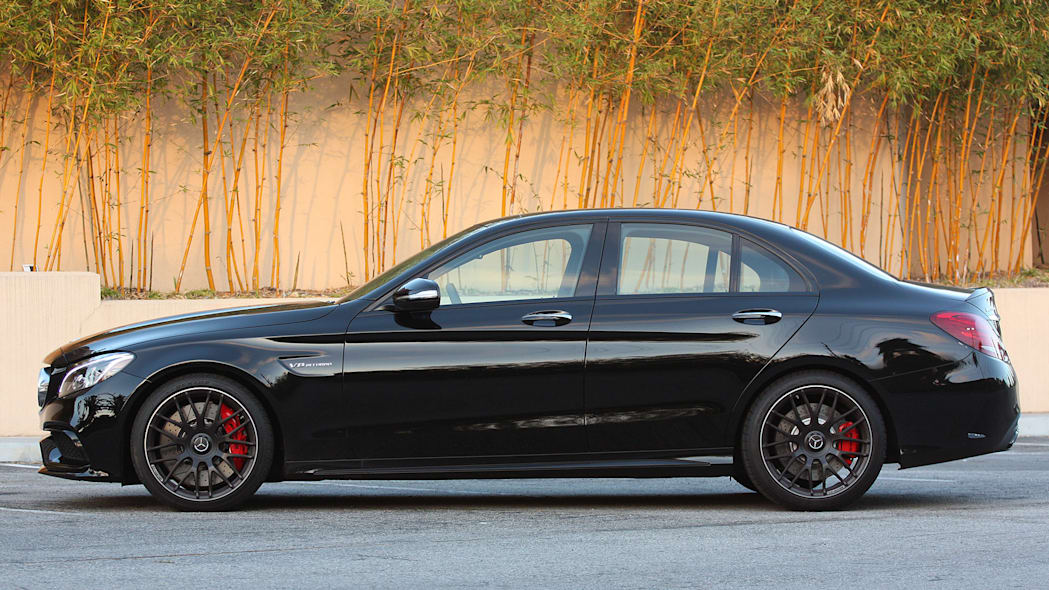 2015 Mercedes-AMG C63 S side view