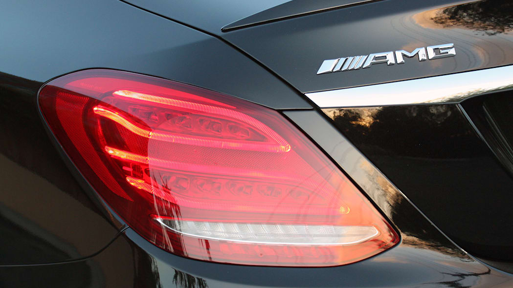 2015 Mercedes-AMG C63 S taillight
