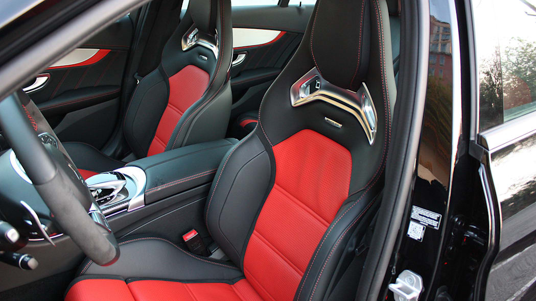2015 Mercedes-AMG C63 S front seats