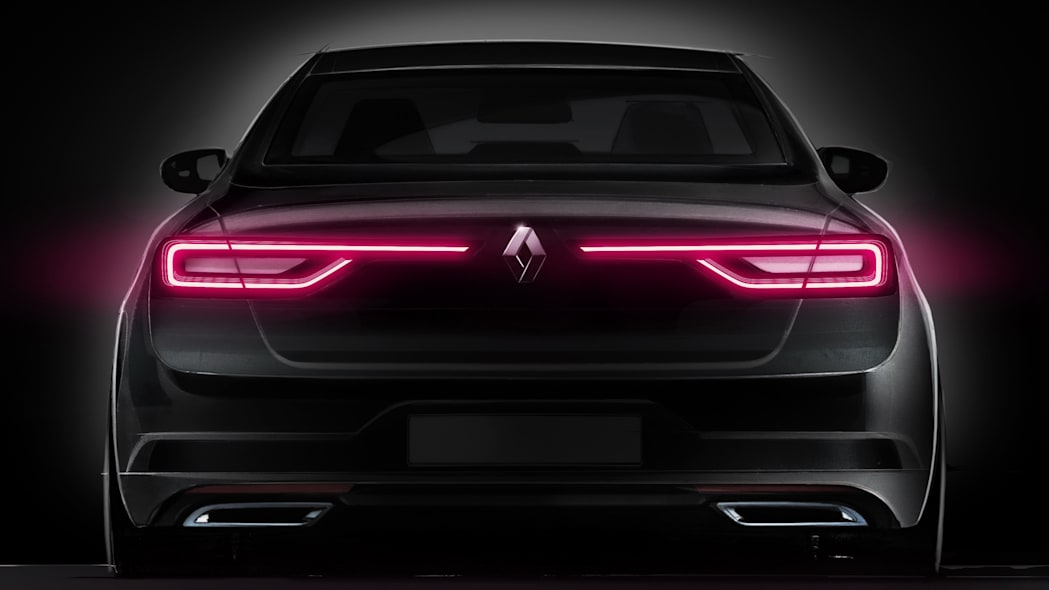 taillights led renault talisman sedan exhausts