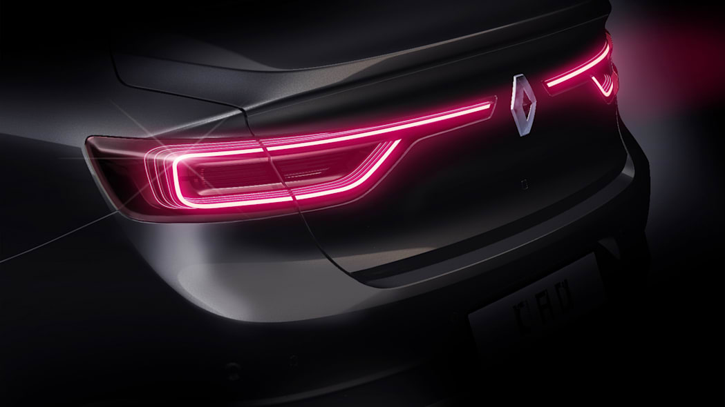 renault talisman taillights sedan logo badge