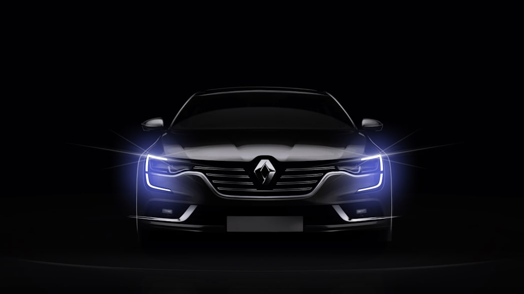 talisman renault sedan led headlights running