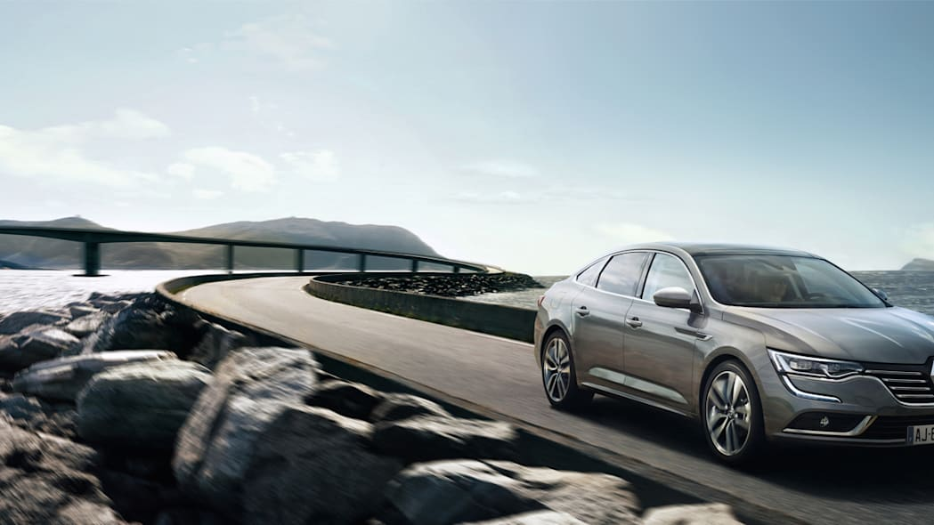 renault ocean talisman sedan water bridge