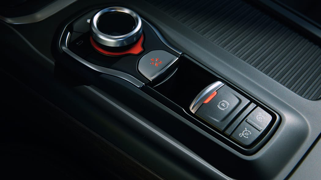 renault talisman parking brake controls
