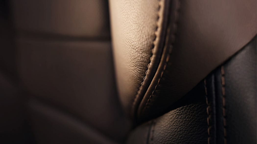 stitching seats leather cabin interior renault
