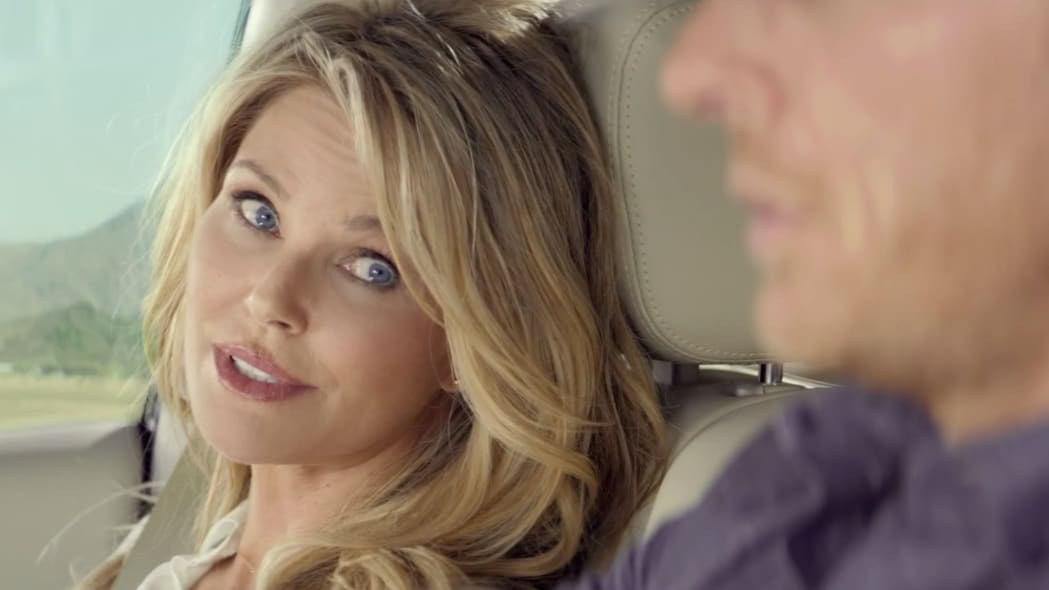 infiniti qx60 vacation ad with christie brinkley