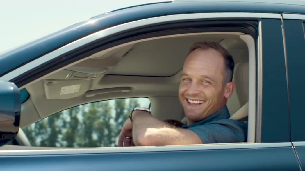 ethan embry in infiniti vacation ad