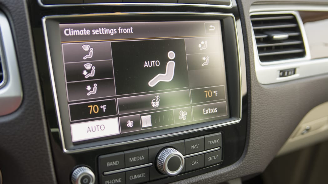 volkswagen tdi climate control navigation touareg
