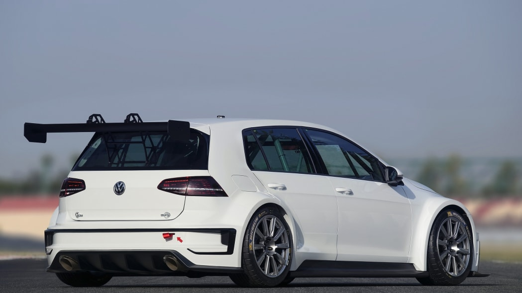 Volkswagen Golf TCR rear 3/4