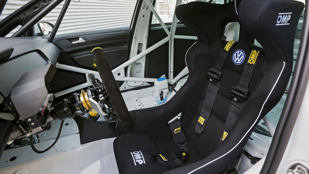 Volkswagen Golf TCR interior