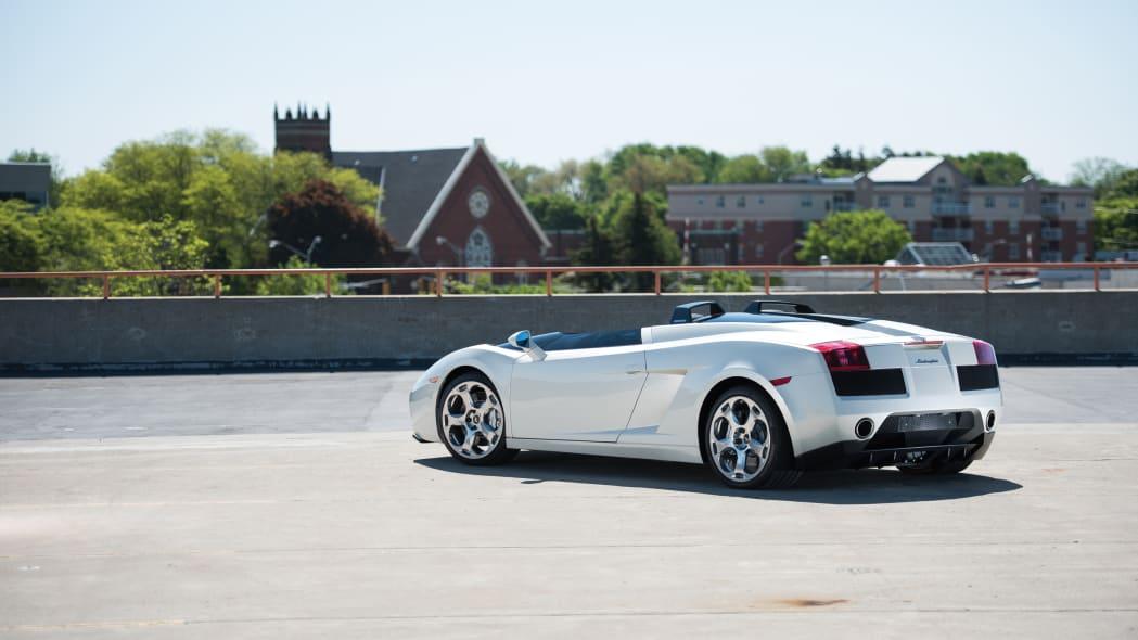 2005 Lamborghini Concept S rear 3/4