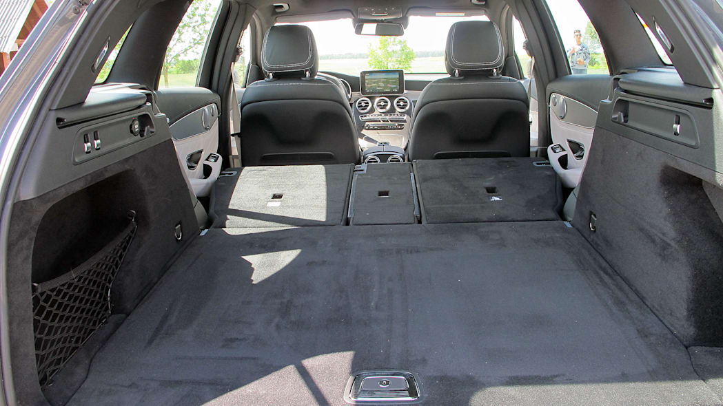 2016 Mercedes-Benz GLC250 rear cargo area