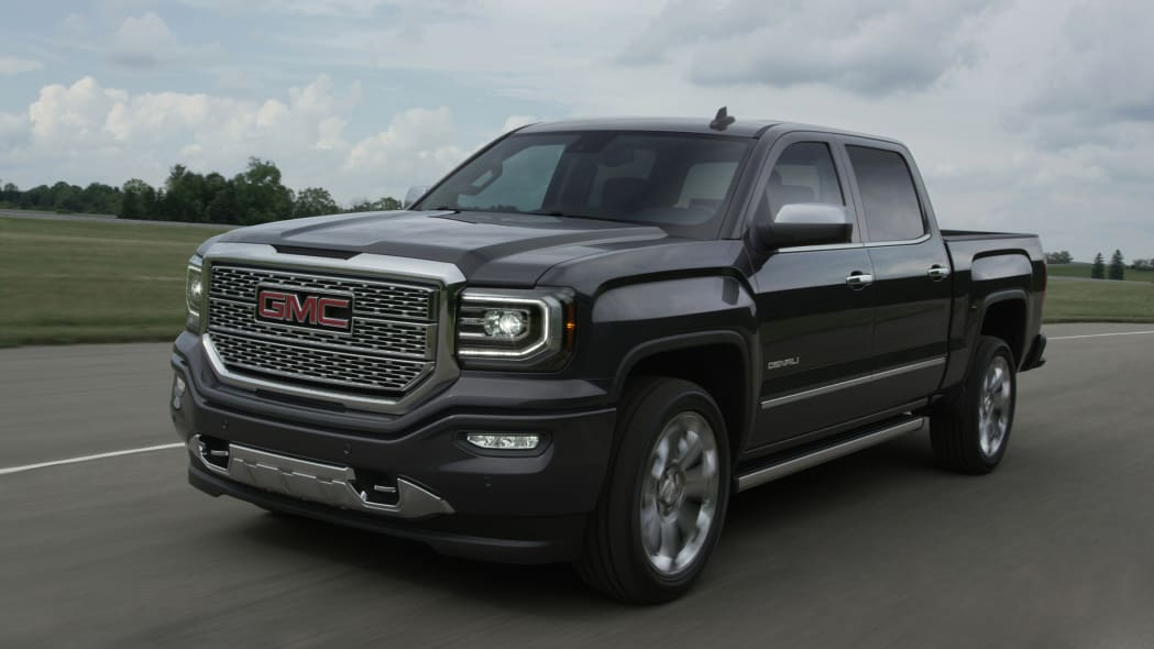 2016 GMC Sierra Denali moving