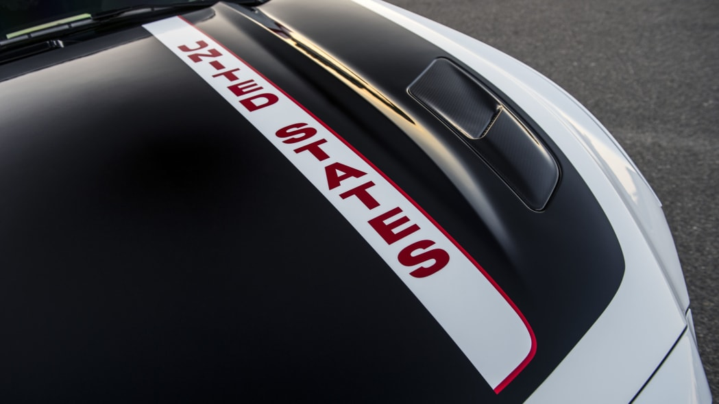 2015 ford mustang apollo edition hood and decal