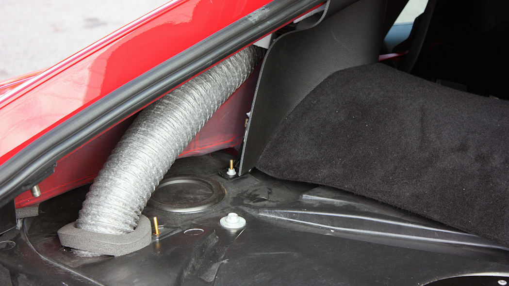 2016 Dodge Viper ACR brake cooling duct