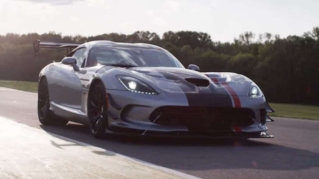 2016 Dodge Viper ACR at Virginia International Raceway