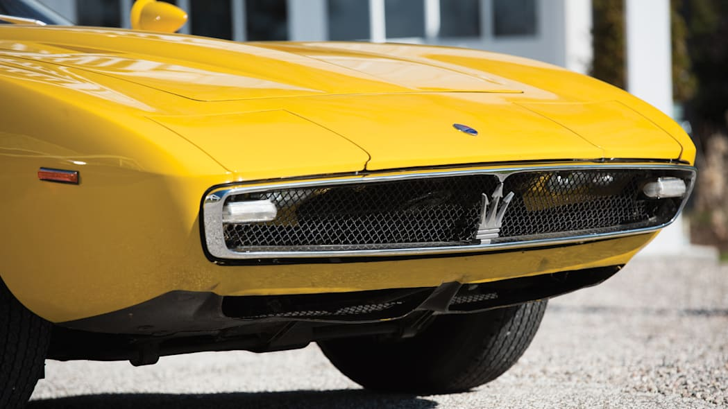 1968 Maserati Ghibli Spyder Prototype front grille