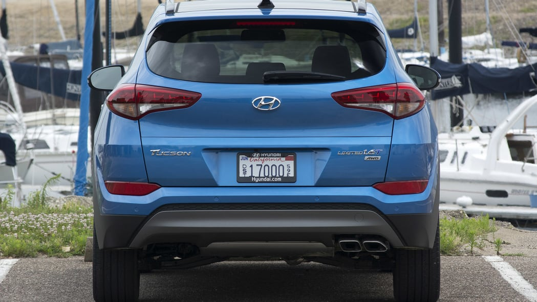 2016 Hyundai Tucson rear view
