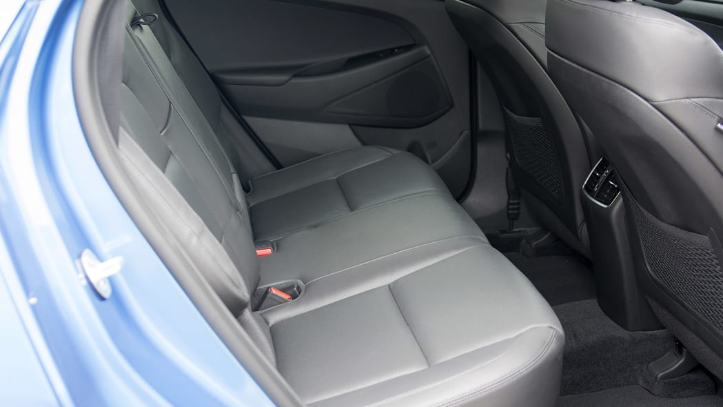 2016 Hyundai Tucson rear seats