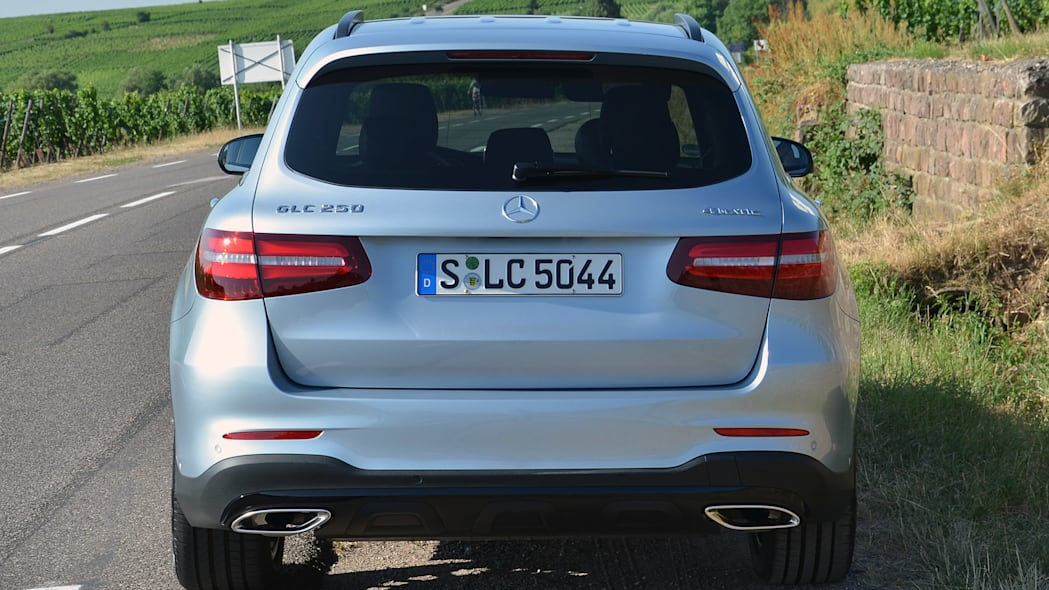 2016 Mercedes-Benz GLC250 rear view
