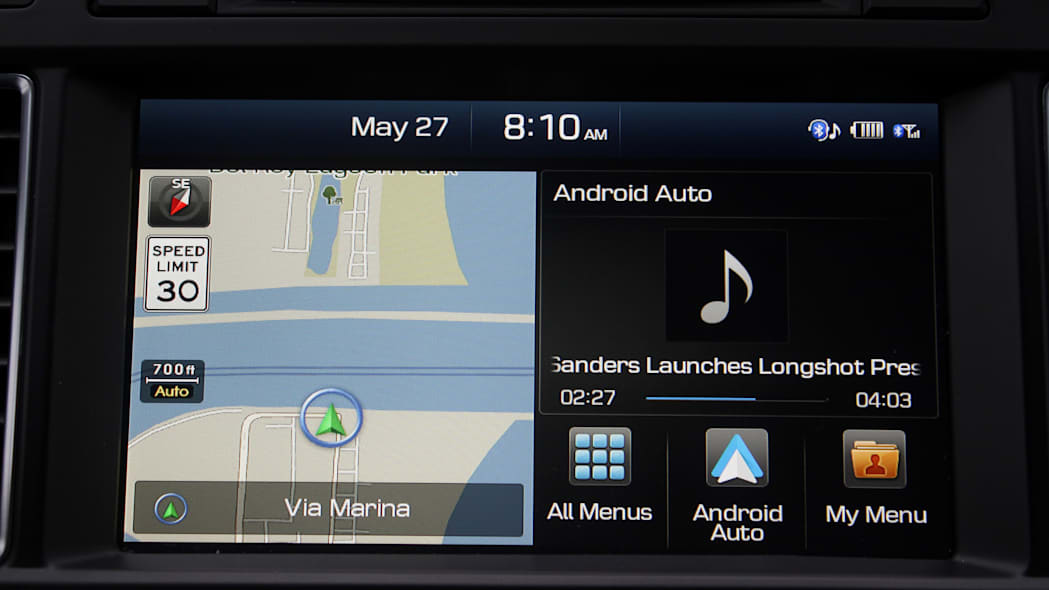 Android Auto Apple CarPlay hyundai