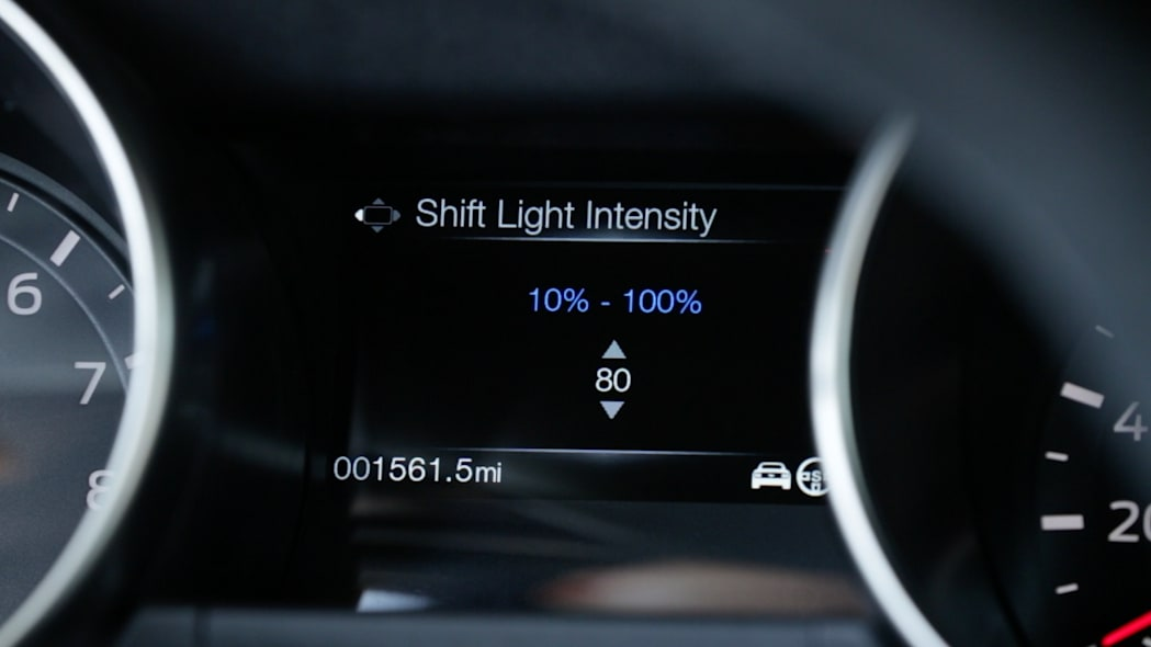 ford shelby gt350 shift light